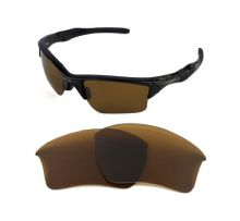 NEW POLARIZED REPLACEMENT BRONZE XL LENS FOR OAKLEY HALF JACKET 2.0 SUNGLASSES
